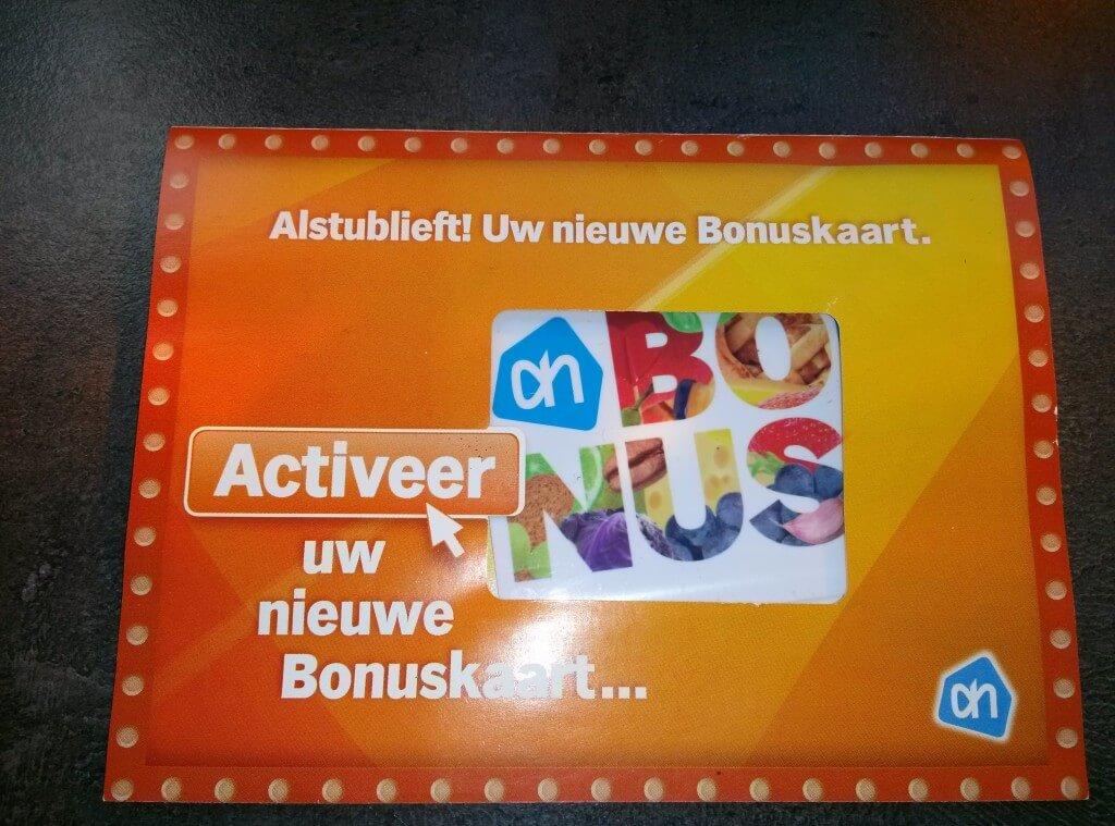 AH Bonuskaart 2013