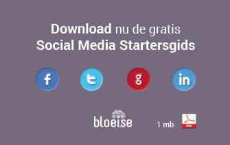 Download the free Social Media Starters Guide now: http://bloeise.nl/wp-content/uploads/2013/12/Social-Media-Startersgids.pdf