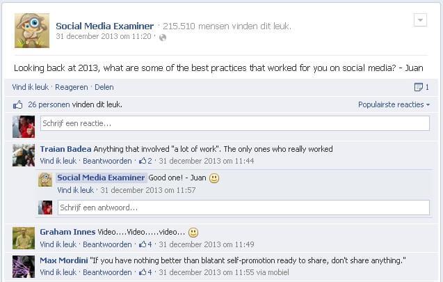 Facebook Social Media Examinator