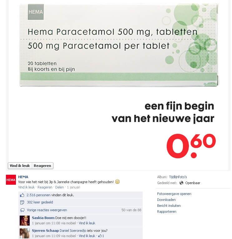 Facebook HEMA