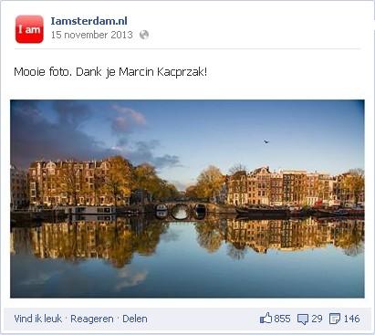 Facebook IAmsterdam NL