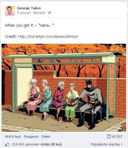 Facebook George Takei