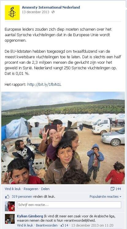 Facebook Amnesty International