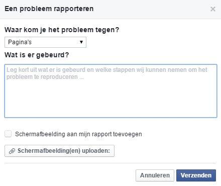 Facebook paginatitel veranderen