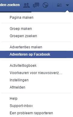 Start advertising on Facebook