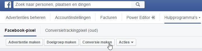 Make Facebook Ads Pixel conversion