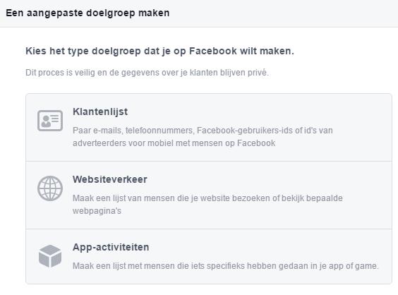 Create Facebook Ads Custom Audience