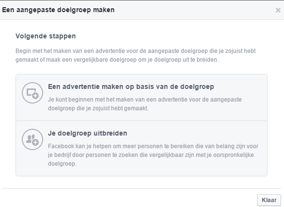 Create Facebook Ads Lookalike Audience After Custom Audience Creation