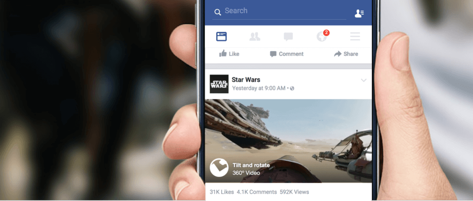 Facebook trends 360-in-news-feed