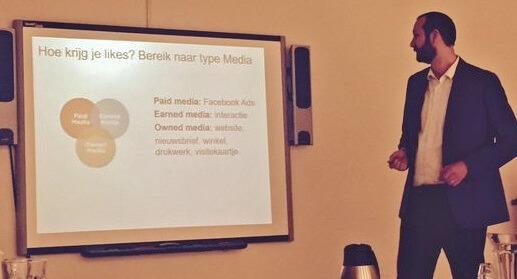 Facebook Workshop for companies Den Helder by Bloeise