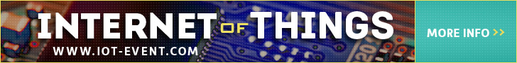 Internet of Things event 6 april banner