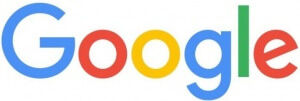Google logo voor hoger komen in Google met SEO
