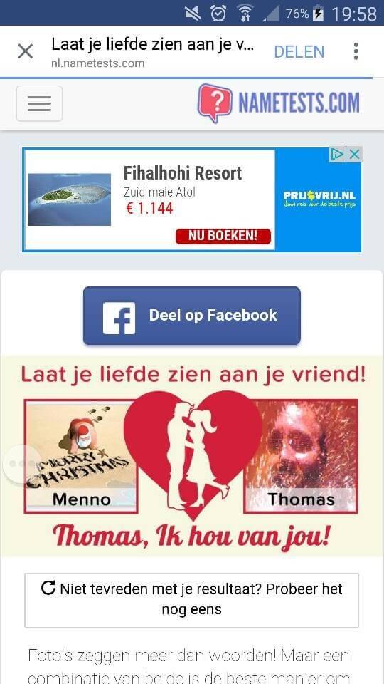 Thomas Lapperre 30 dagen niet op Facebook 3