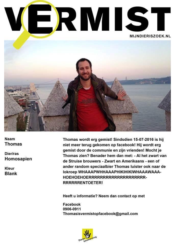 Thomas Lapperre 30 dagen niet op Facebook 5