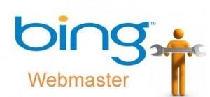 BING webmaster tools aanmelden