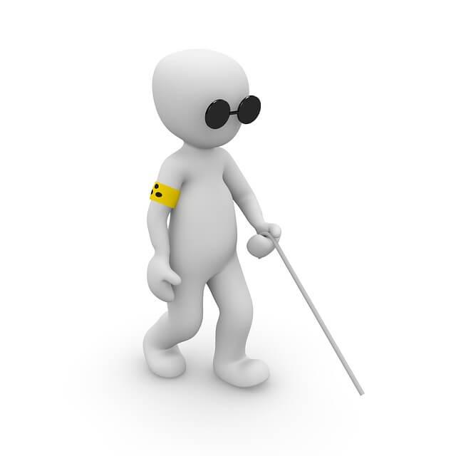 Website beter vindbaar door rekening houden met blinde mensen