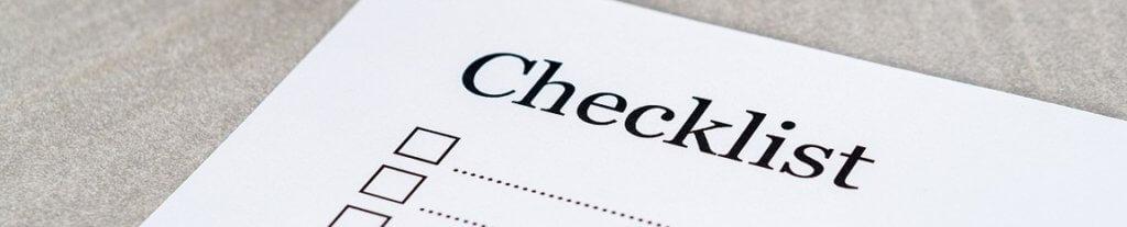 Checklist voor contentmarketeers