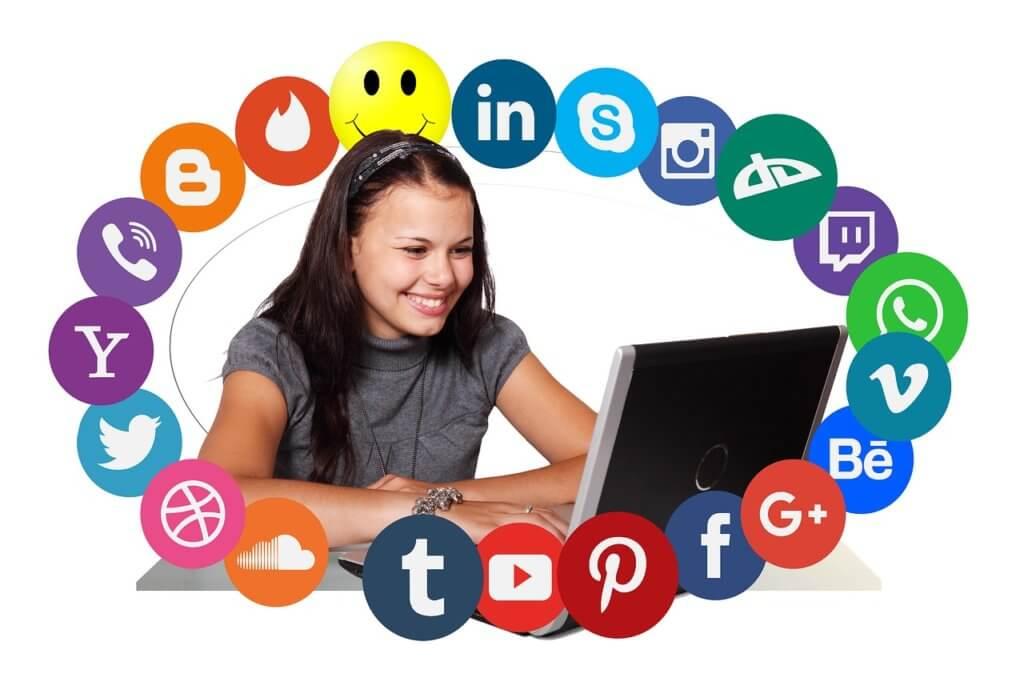 Facebook - Instagram - Twitter - social media for influence marketing
