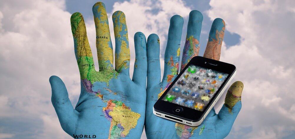 Globale invalshoek social media gebruik wereldwijd