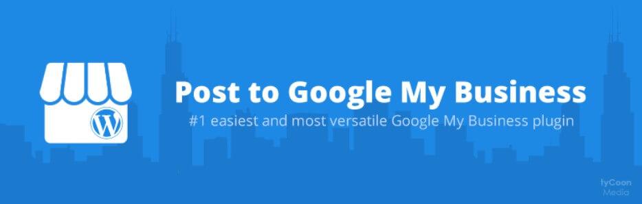 Google mijn Bedrijf Posts met gratis WordPress Plugin