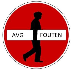 Veelgemaakte fouten AVG-GDPR
