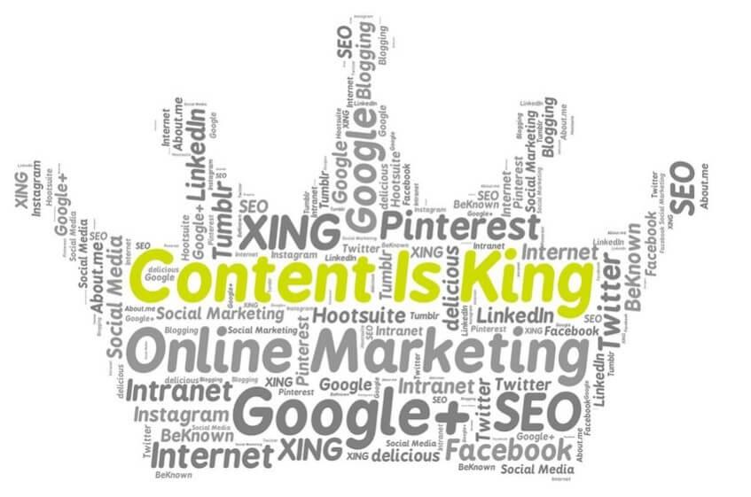 Content is king voor SEO
