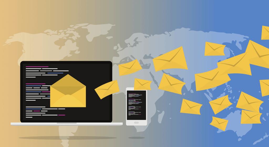 Computer verstuurt e-mails