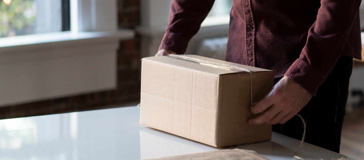 Send package e-commerce
