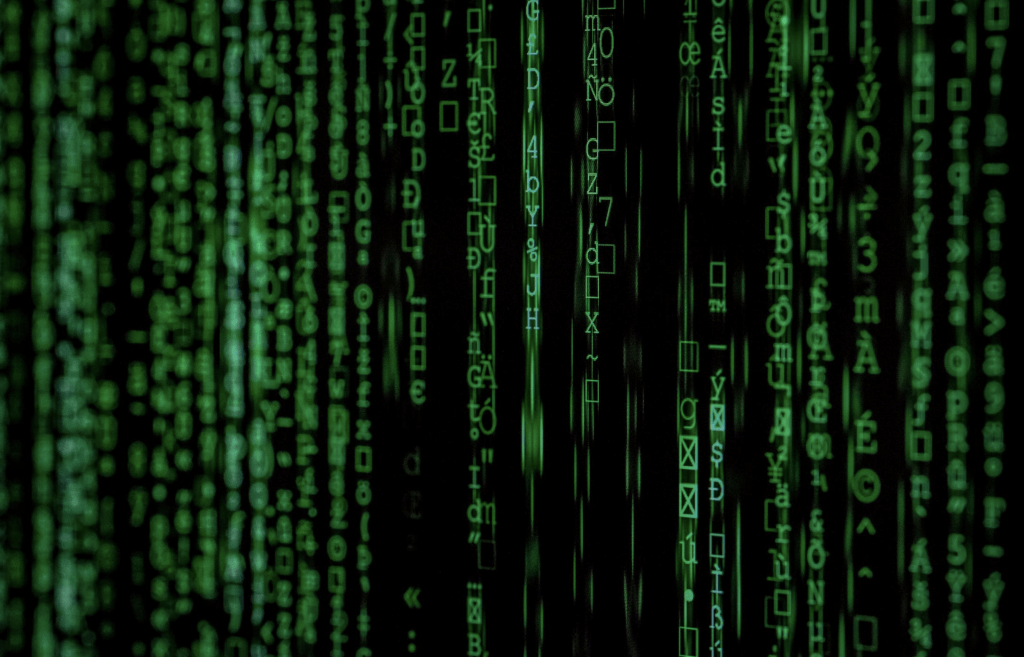 Matrix with data