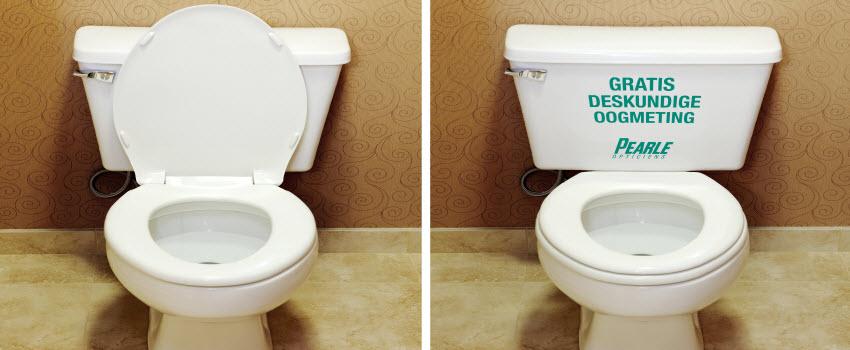 toilet advertising toilet bowl