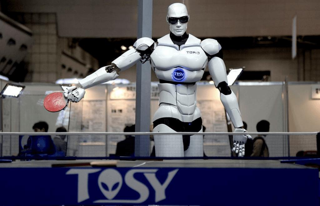 An artificial intelligence robot.