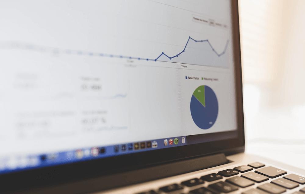 Growth hacking - statistieken op een scherm
