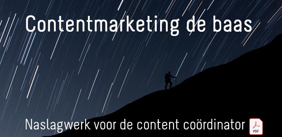 Contentmarketing de baas