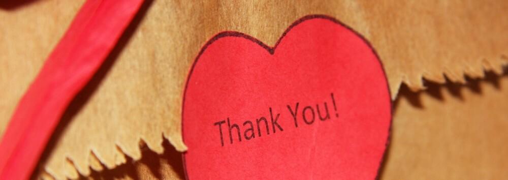 heart Thank you!