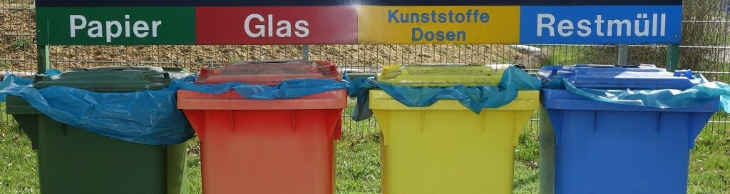 Afval scheiden - duurzaam werkklimaat
