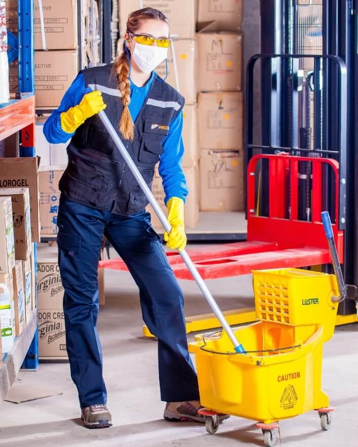 Duurzame schoonmaak op de werkvloer