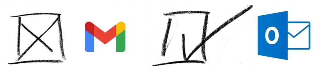 Overstappen van Gmail naar Microsoft Outlook