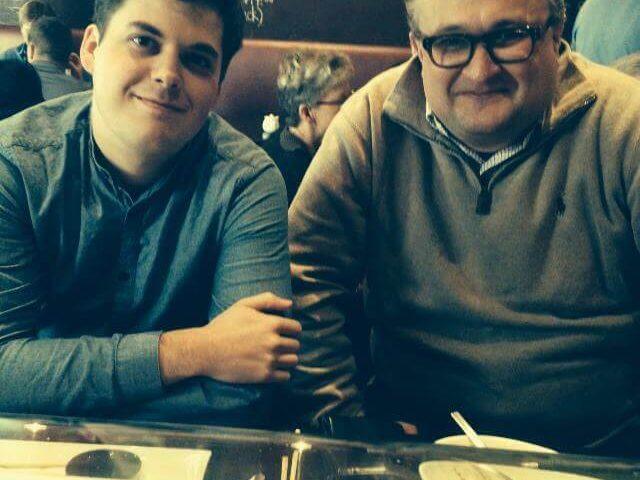 Olivier samen met Davy van Spark Central