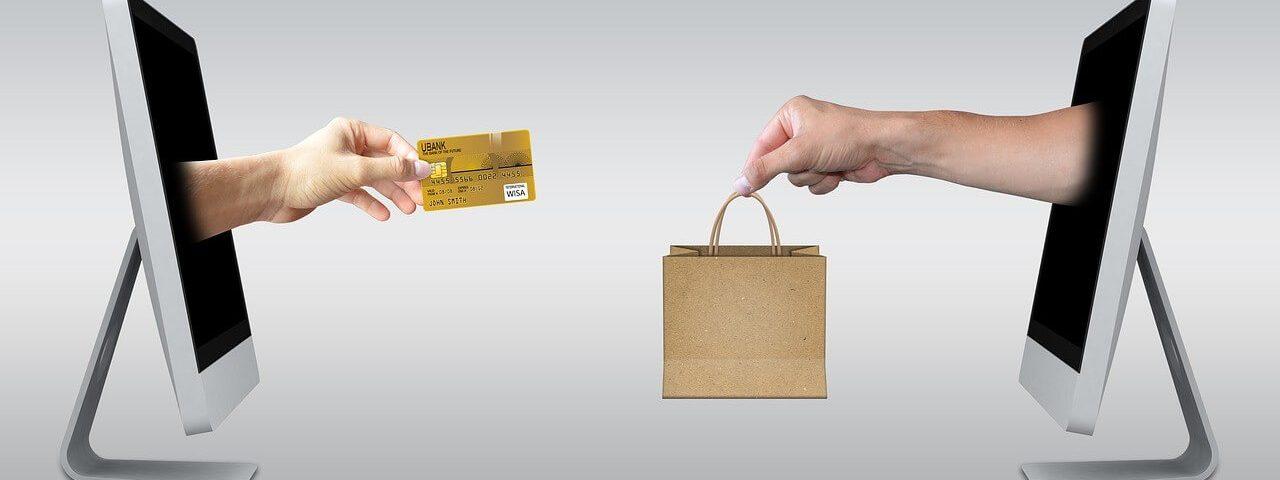 Financiële transactie online e-commerce