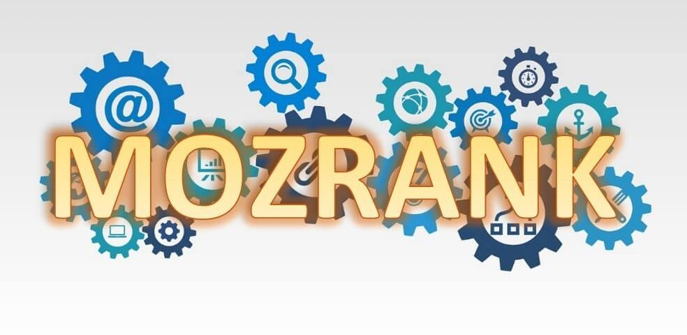 MozRank logo met radartjes
