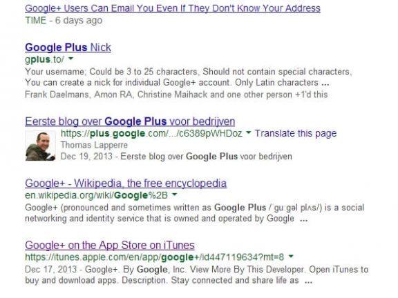 Screenshot 2 zoekopdracht Google plus (1)