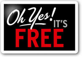 oh yes, it's free