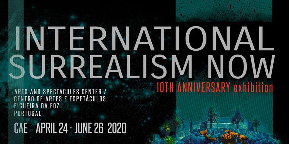 10 JAAR van de tentoonstelling International Surrealism Now   bij CAE9676280177123_112388625437556736_o