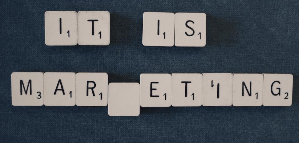 Letters met 'It Is Marketing