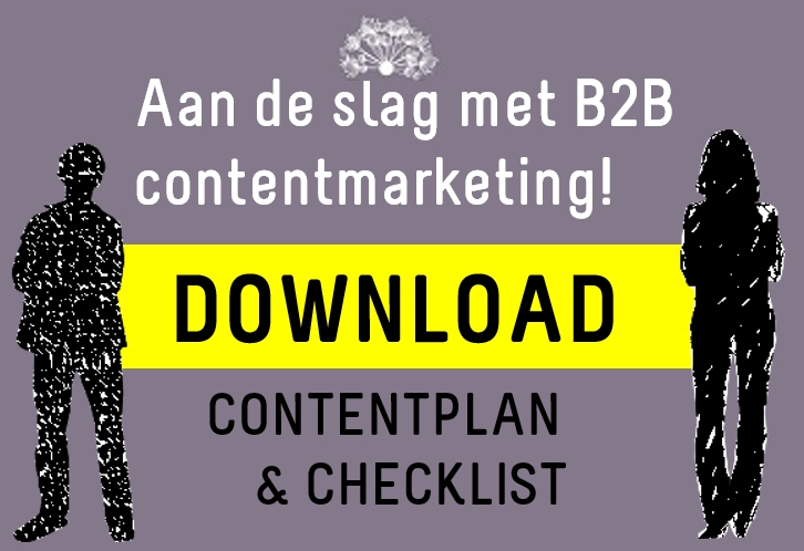 Download B2B content plan and Checklist