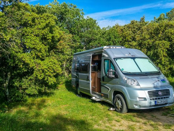 Camper for working from home