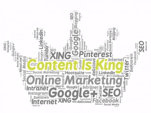 Tekst: Content is King