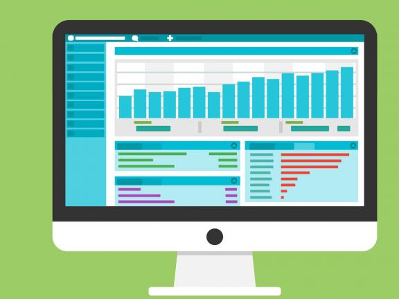 Vector: Statistics of a blog