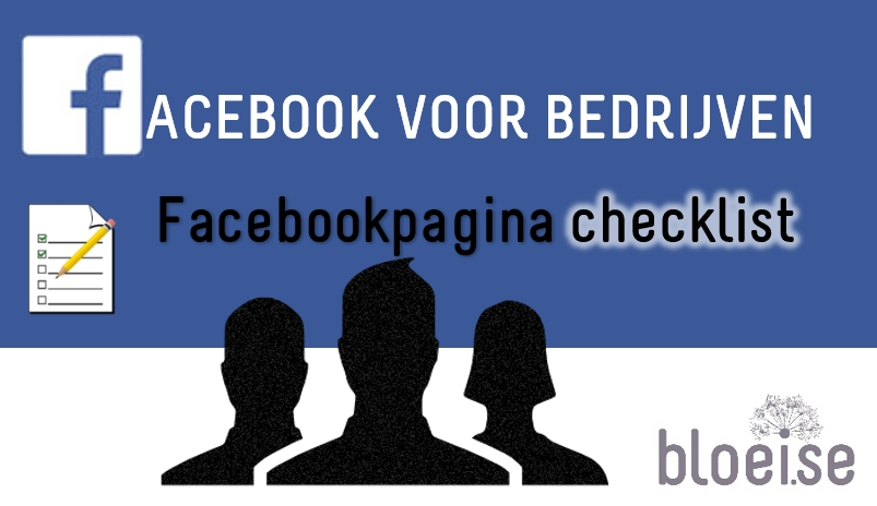 Facebook for business facebook page checklist