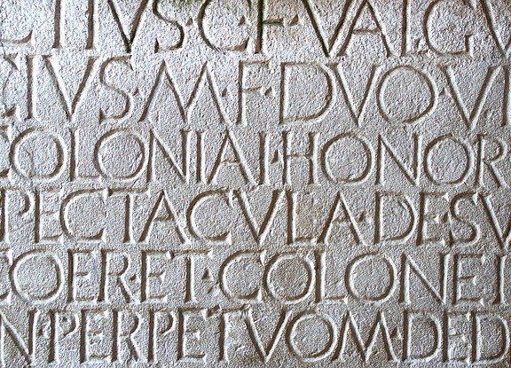 Pompeii text